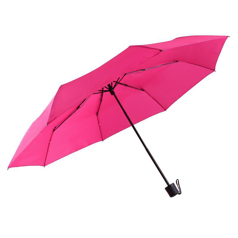 Super Windproof Rain Umbrella Men Travel Umbrella - PINK 25 X 4 X 4 CM