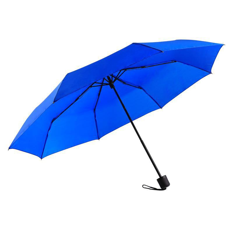 Super Windproof Rain Umbrella Men Travel Umbrella - BLUE 25 X 4 X 4 CM