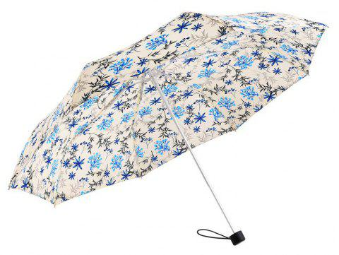 Lightweight Windproof Quick Dry Travel Umbrella for Women - BLUE 25 X 3 X 3 CM