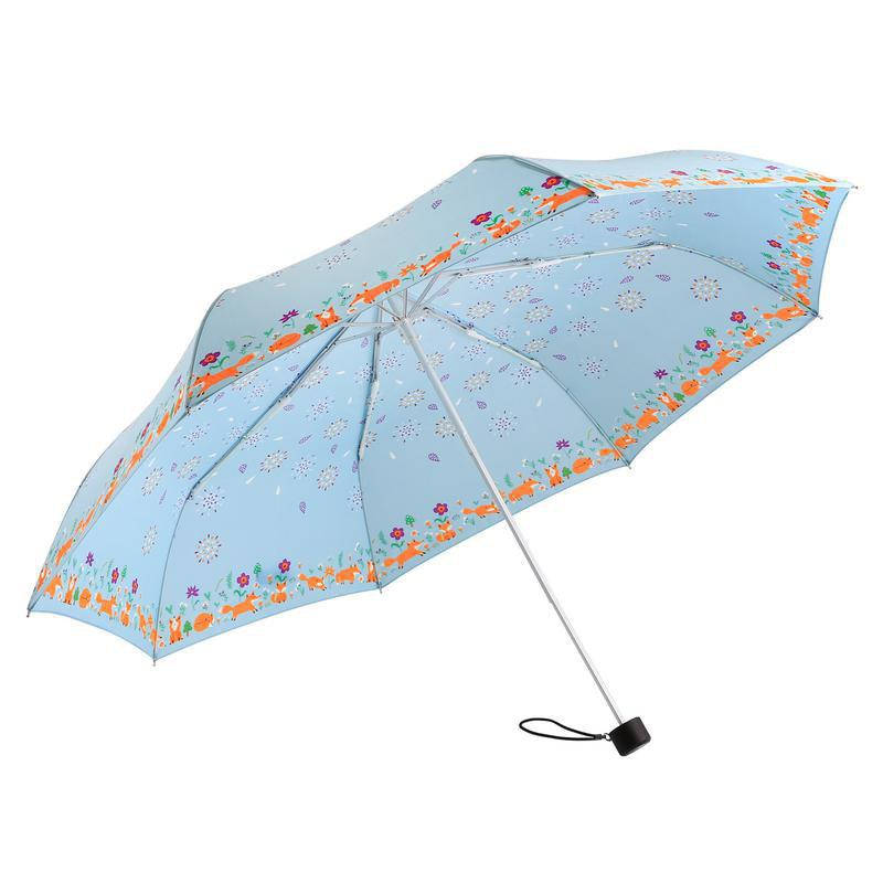 Lightweight Windproof Quick Dry Travel Umbrella for Women - LIGHT BLUE 25 X 3 X 3 CM