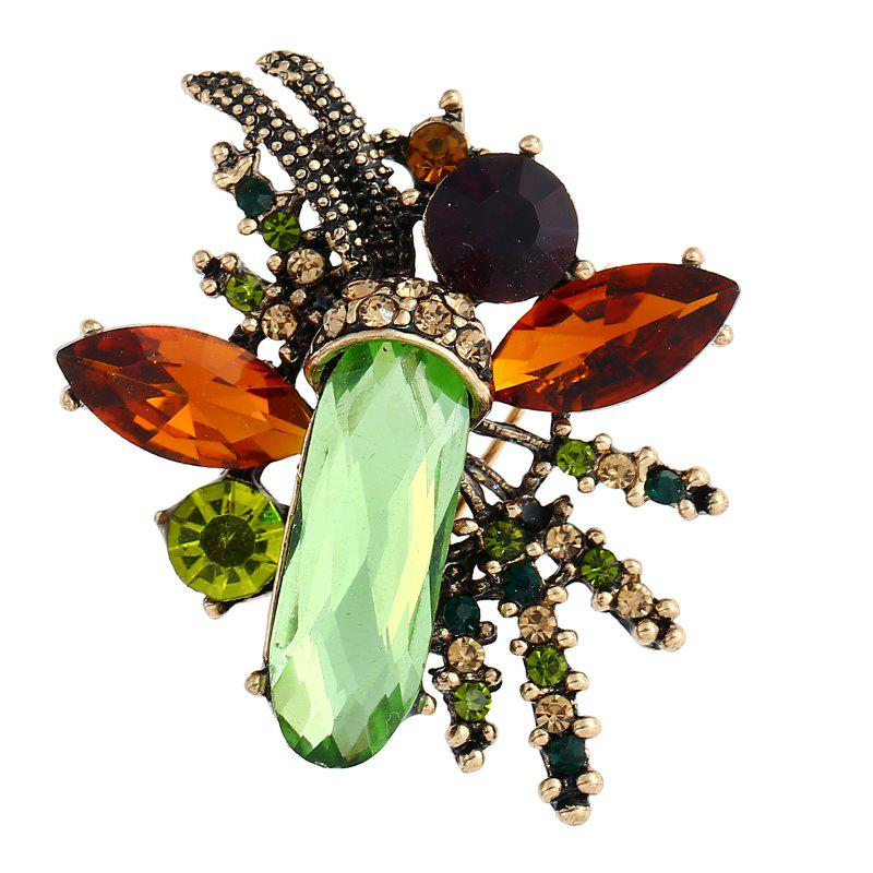 Fashionable Temperament Personality Fashion Gem Brooch - MOSS