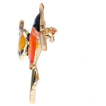 Chinese National Culture and Quality Kingfisher Brooch - COLORMIX