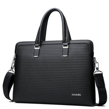 Sac à main Messenger Business Briefcase sac à bandoulière - Noir