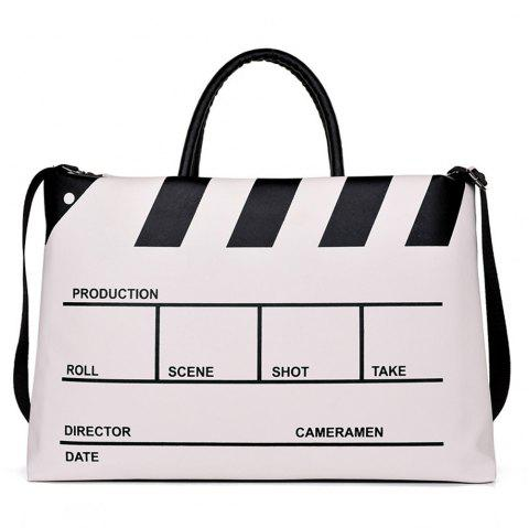 Laptop Official Travel Universal Business Large-capacity Shoulder Messenger Bag - WHITE