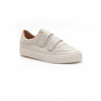 Velcro Harajuku Breathable Shoes - WHITE 37