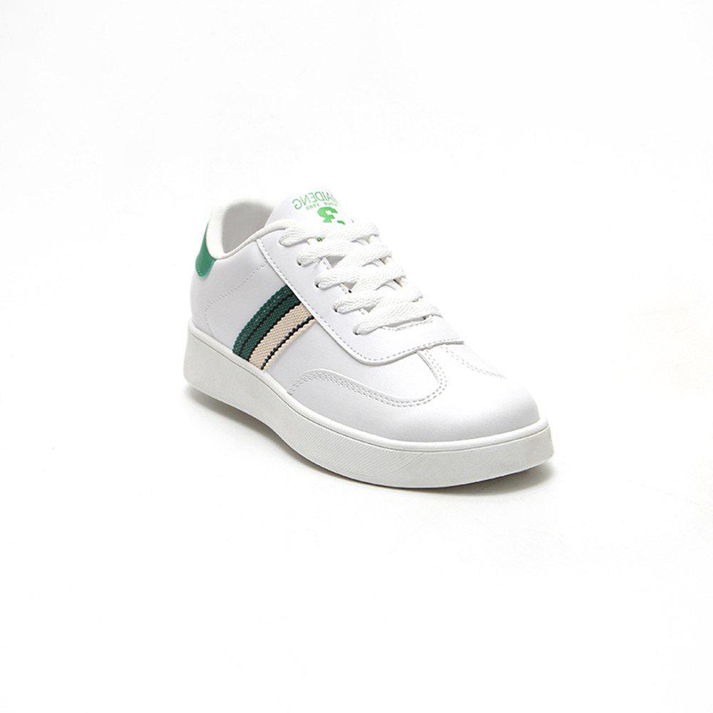 The New Spring All-Match Student Leather Fresh Art Leisure Shoes - IVY 40