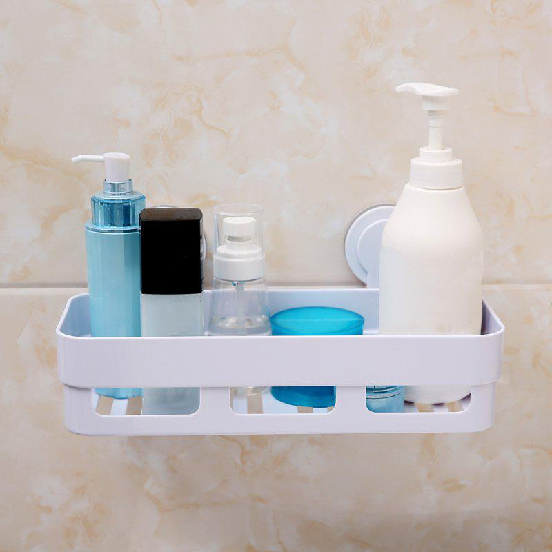 Sucker Bathroom Racks Articles de toilette Toiletries - BlancA 30X14.3X13.6CM