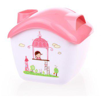 Creative Candy House Tissue Box Can Do The Storage Box Phone Holder - PINK 14.5X13.5X12.3CM