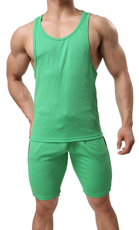 Men's Sport Suit  Breathable Quick-Drying Sportswear - IVY XL