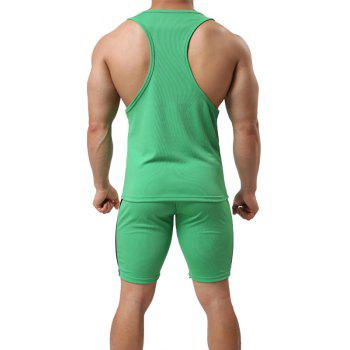 Men's Sport Suit  Breathable Quick-Drying Sportswear - IVY M