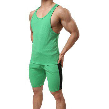 Men's Sport Suit  Breathable Quick-Drying Sportswear - IVY L