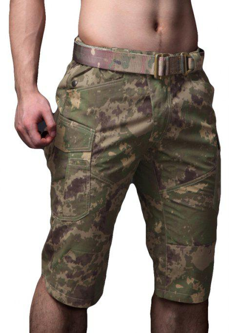 Summer New Mountaineering Jungle Combat Shorts camouflage pantalons décontractés en plein air - jungle camouflage M