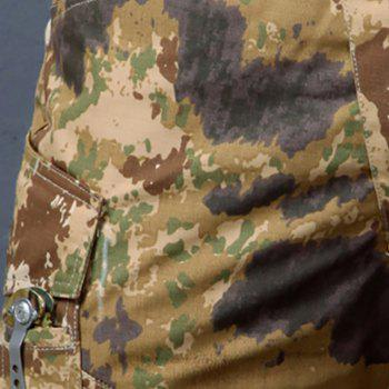 Summer New Mountaineering Jungle Combat Shorts camouflage pantalons décontractés en plein air - Desert Camouflage 2XL