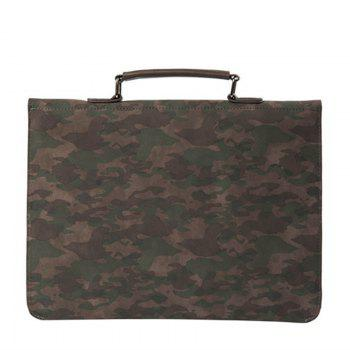 New Camouflage Portable Handbag Business Casual Messenger Bag Unique Korean Men's Handbag - CAMOUFLAGE