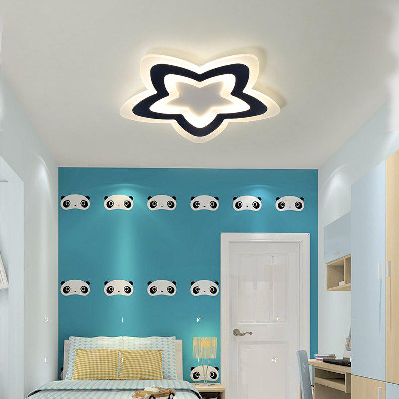 PJ386 LED Warm Romantic Suction Ceiling Lamps and Stars Bedroom Lamps and Balcony Lamps - BLUE/WHITE
