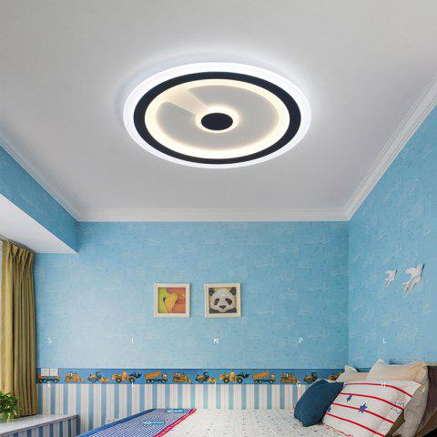 PJ387 LED Modern Simplicity Ceiling Light Creative Personality Restaurant Bedroom Living Room Lamps and Lanterns - BLUE / WHITE / YELLOW