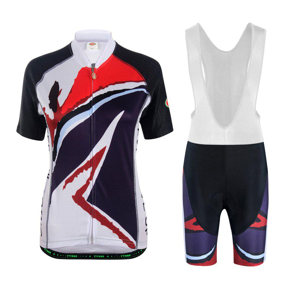TVSSS Cycling Jersey Women Cycling Shorts MTB Shorts Cycling Sets - WHITE XL