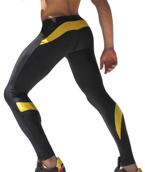 Men's Pants Fitness Yoga Pants - DAISY XL