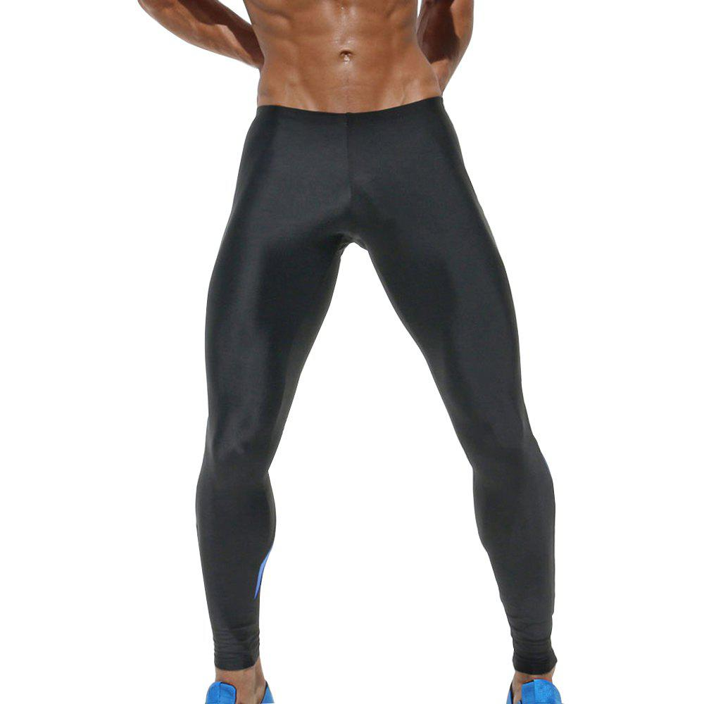 Men's Pants Fitness Yoga Pants - BLUE L