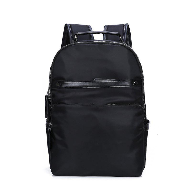 2018 New Outdoor Travel Men's Computer Shoulder Knapsack - BLACK