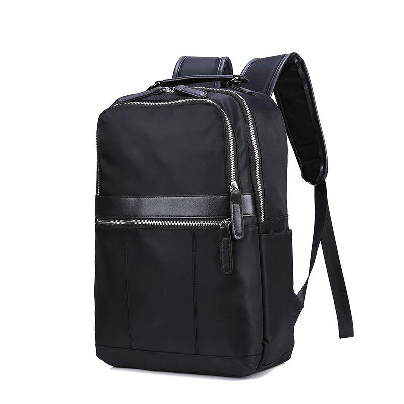 Fashionable And Lightweight Men's Double Back - BLACK