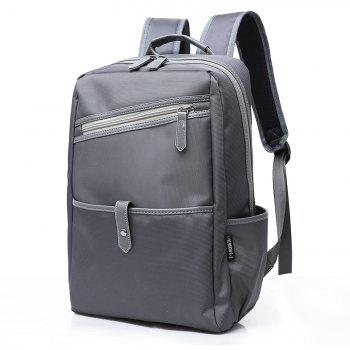 Travel Light Backpack for Men's Computers - GRAY