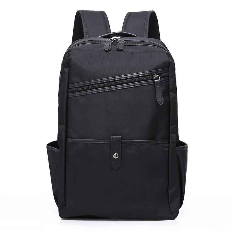 Travel Light Backpack for Men's Computers - BLACK