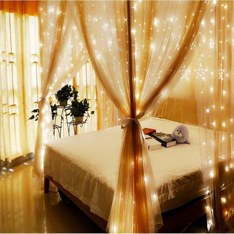 1PC Waterproof Outdoor Home 10M LED Fairy String Lights Christmas Party Wedding Holiday Decoration - WARM WHITE