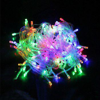 1PC Waterproof Outdoor Home 10M LED Fairy String Lights Christmas Party Wedding Holiday Decoration - RGB