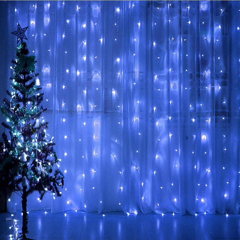 1PC Waterproof Outdoor Home 10M LED Fairy String Lights Christmas Party Wedding Holiday Decoration - BLUE LIGHT