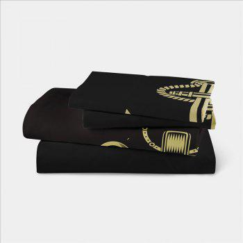 Sea Island Shark Ship Anchor 3D Series Bedding Set Three and Four Pieces AS26 - COLORMIX SINGLE
