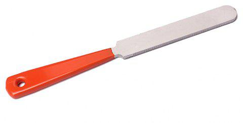 Guitar Fret Crowning Luthier File Stainless Steel Narrow Dual Cutting Edge - SILVER