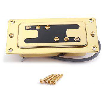 Pick-up double bobinage guitare électrique or Humbucker - Or