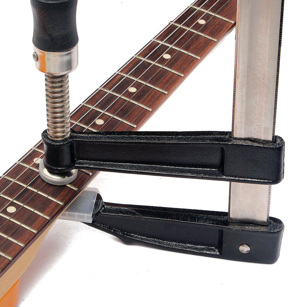 Guitar Bass Fingerboard Fret Press Metal Inserts Luthier Fretting Tool - BLACK