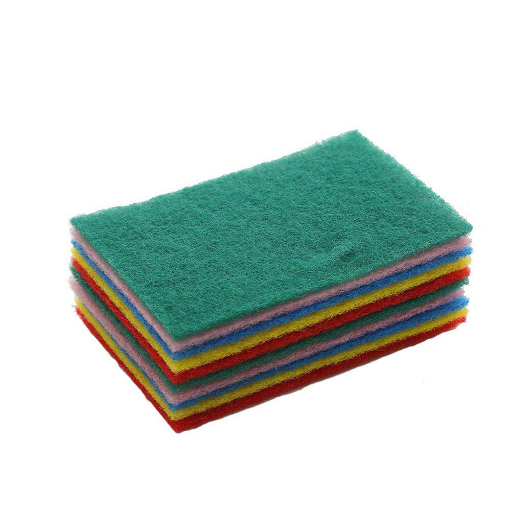 2018 Household Cleaning Color Scouring Pad 10PCS COLOUR In ...