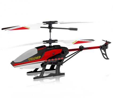 Attop T1 3.5CH RC Helicopter - RED GRAY