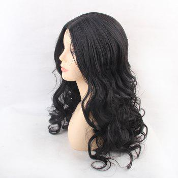 Wigs for Women Enchanting Black  Long  Wavy Curly Hair - BLACK