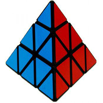 Pyraminx Magic Speed Cube Professional Puzzle Education Classic Toy for children - BLUE/RED
