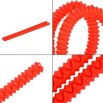 Oeina 2pcs Red Silicone Strip Oven Rack Edge Clip Guard Heat Resistant Anti-hot Kitchen Helper - RED