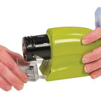 Electric Quick Multi-function Sharpener - GREEN