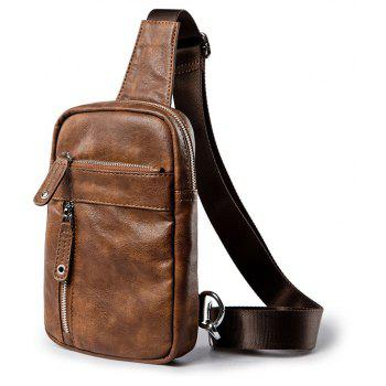 Vintage Camel Korean Unbalance Backpack Crossbody Bag