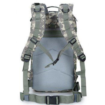 Increased Army Fans Outdoor Shoulders Backpack Bag - CAMOUFLAGE GRAY VERTICAL