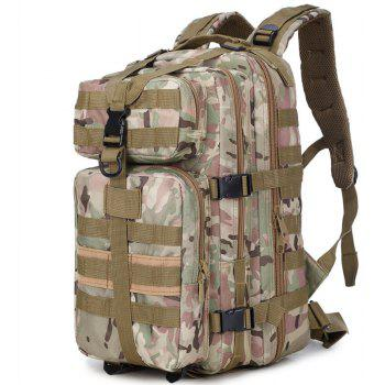 Increased Army Fans Outdoor Shoulders Backpack Bag - KHAKI / ARMY GREEN VERTICAL