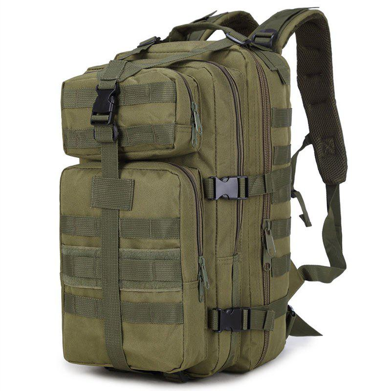 Increased Army Fans Outdoor Shoulders Backpack Bag - ARMYGREEN VERTICAL