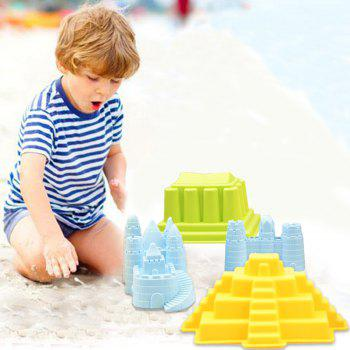 Colorful Beach Sand Toy Set - COLORFUL
