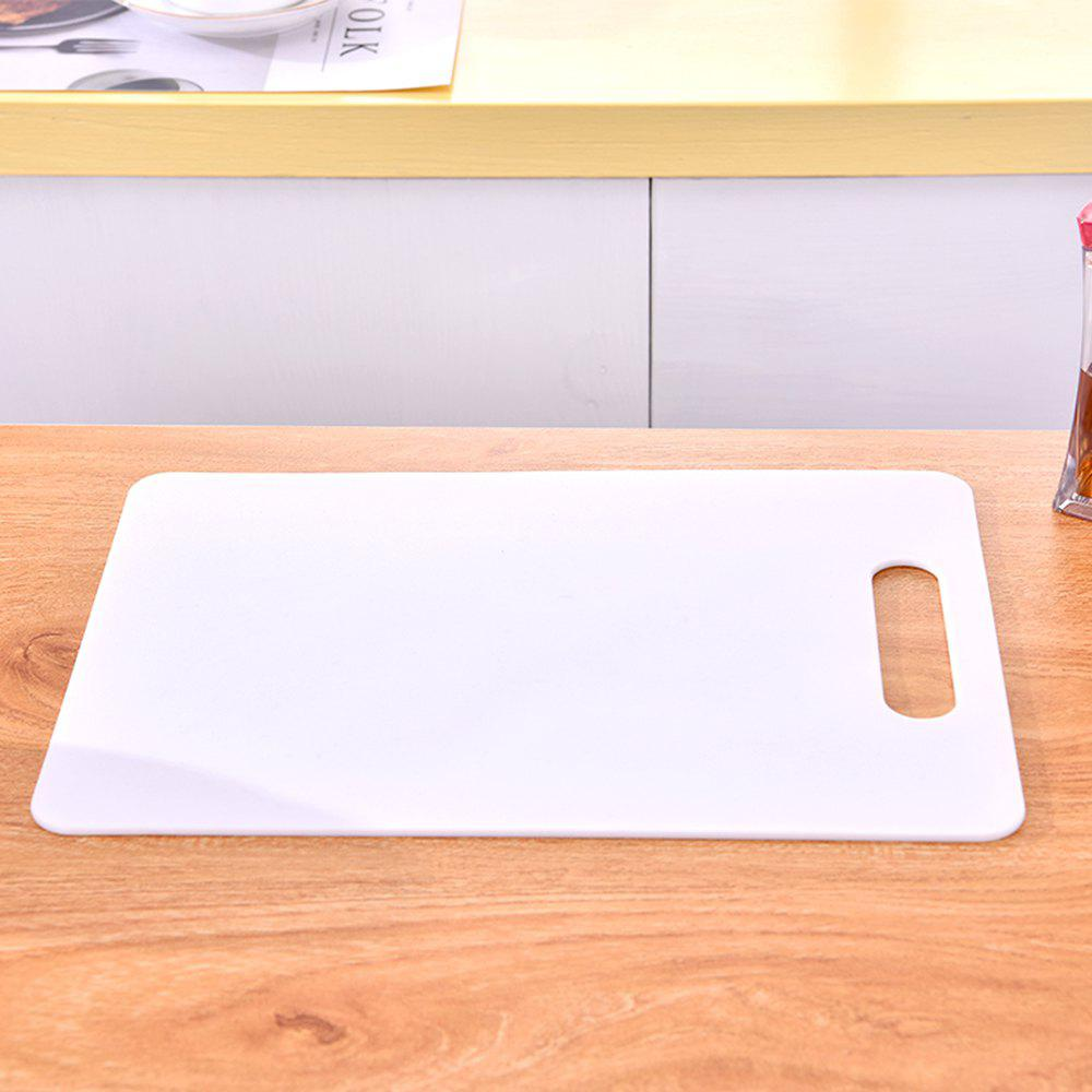 Non-Slip PP Cutting Board - WHITE