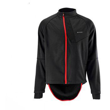 SAHOO 47906 Autumn and Winter Cycling Clothes - BLACK M