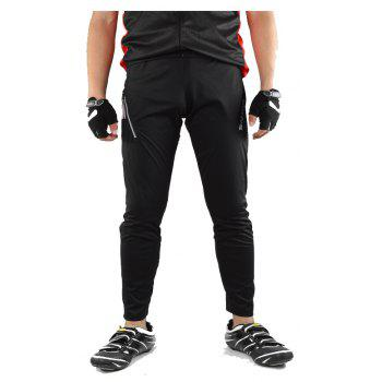 SAHOO  46872 Autumn and Winter Thin Section Breathable Moisture Cycling Pants - BLACK L