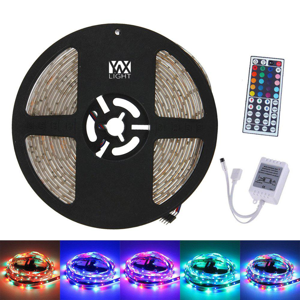 YWXLight 5M 300LED 3528SMD Waterproof 44Key Remote Control Flexible LED Light Strips ( DC 12V) - RGB