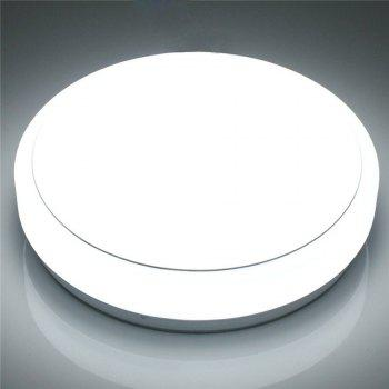 IAWEN Modern Round Simple Ceiling Light for Bedroom Hallway Balcony - COLD WHITE LIGHT
